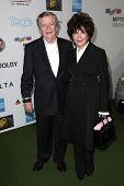 Bob Daly and Carole Bayer Sager at Hugh Jackman