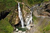 Ecuador, Banos Waterfall