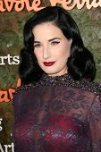 Dita Von Teese at the Wallis Annenberg Center For The Performing Arts Inaugural Gala, Wallis Annenbe