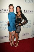 Shantel VanSanten and Angelique Cabral at the