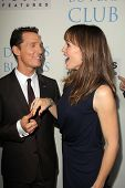 Matthew McConaughey and Jennifer Garner at the