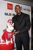 Jason Collins and Bullseye at the 2013 GLSEN Awards, Beverly Hills Hotel, Beverly Hills, CA 10-18-13