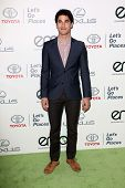 Darren Criss at the 23rd Annual Environmental Media Awards, Warner Brothers Studios, Burbank, CA 10-
