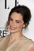 Emilia Clarke at the Elle 20th Annual