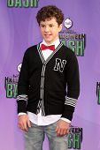 Nolan Gould at the Hub Network First Annual Halloween Bash. Barker Hangar, Santa Monica, CA 10-20-13
