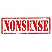 Nonsense-stamp