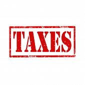 Taxes-stamp