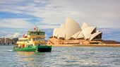 Sydney Opera House and Ferry
