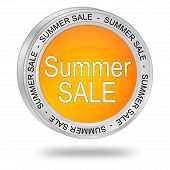 Summer Sale Button