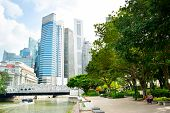 Downtown Core Park, Singapore