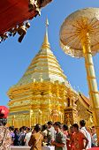 End Of Buddhist Lent Day At Phra That Doi Suthep Temple