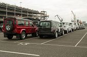 Land Rover Exports, Southampton
