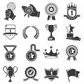 awards and trophy icons