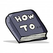 cartoon how to book