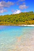 foto of mckenzie  - Lake McKenzie is one of the popular freshwater lake at Fraser Island Australia - JPG