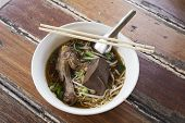 Noodles With Pot-stewed Duck
