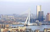 Erasmusbridge in Rotterdam the Netherlands