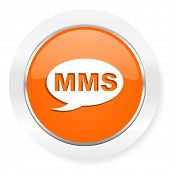mms orange computer icon