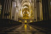 Cathedral arcs, Tourism, Toledo, most famous city in spain