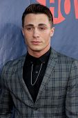 LOS ANGELES - JUL 17:  Colton Haynes at the CBS TCA July 2014 Party at the Pacific Design Center on