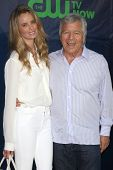 LOS ANGELES - JUL 17:  Ricki Noel Lander, Robert Kraft at the CBS TCA July 2014 Party at the Pacific Design Center on July 17, 2014 in West Hollywood, CA