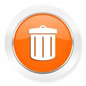 recycle orange computer icon