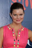 LOS ANGELES - JUL 17:  Heather Tom at the CBS TCA July 2014 Party at the Pacific Design Center on Ju