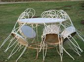 Historic Metal Garden Furniture