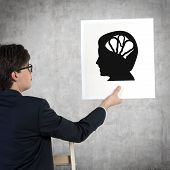 Silhouette Of The Head