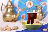 Turkish Tea With Cane Sugar