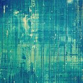 Old grunge antique texture. With different color patterns: blue; cyan; white