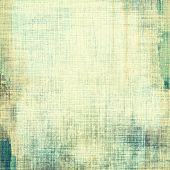 Grunge aging texture, art background. With different color patterns: gray; green; blue; beige