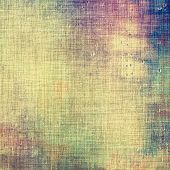 Background in grunge style. With different color patterns: yellow; gray; purple (violet); green; blue