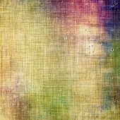 Old grunge antique texture. With different color patterns: green; purple (violet); brown; yellow