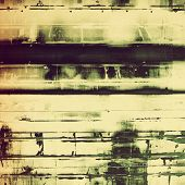Designed grunge texture or retro background. With different color patterns: black; gray; green; brown; yellow