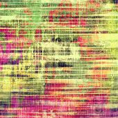 Vintage antique textured background. With different color patterns: green; purple (violet); pink; red; yellow