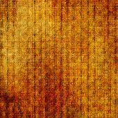 Antique vintage texture or background. With different color patterns: orange; brown; yellow