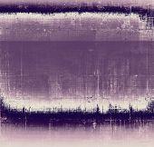 Abstract grunge textured background. With different color patterns: gray; purple (violet); blue