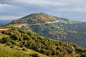 Meteora Rocks And Monasteries In Greece