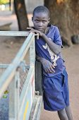 Boy From Mikuni Village, Zambia