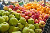 Fruits in market