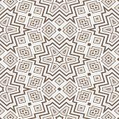 Seamless Geometric Pattern In Brown Spectrum