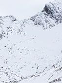 Ski Resort In The Alps