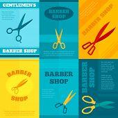 Barber Poster Set