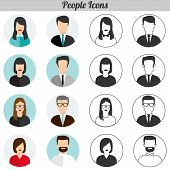 Flat Icons - People
