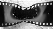 burnt film in Monochrome