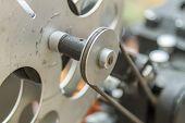 Vintage Film Editing Machine