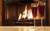 Wine Glasses Christmas