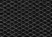 Black Fabric Texture Regular Pattern