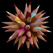 40 Color Pencils